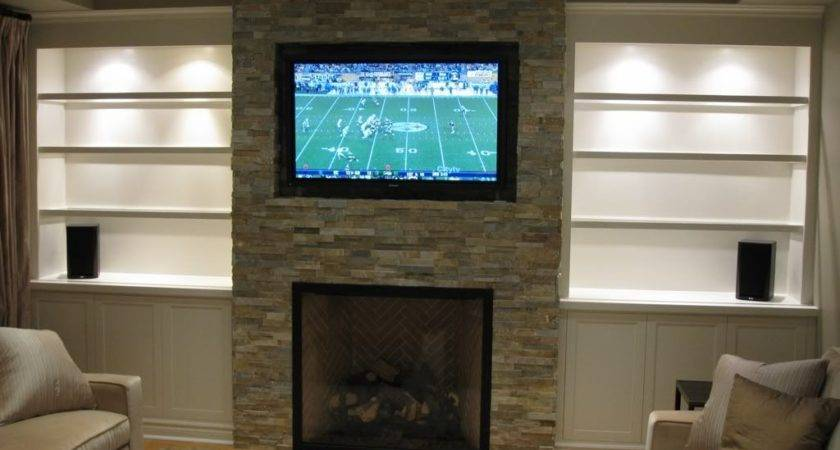 Over Fireplaces Mount Flat Panel Above