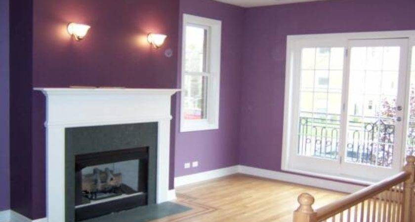 Paint Colors Living Room Purple Cool Rooms
