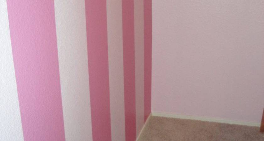 Paint Stripes Wall Heart Nap Time