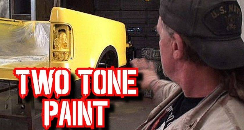 Paint Two Tone Colors Your Car Truck
