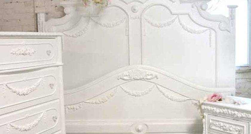 Painted Cottage Shabby Chic French Bed King Queen
