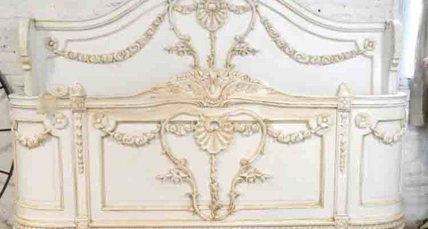 Painted Cottage Shabby Chic French Romantic Bed King