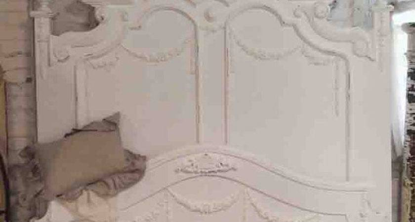 Painted Cottage Shabby French White Romantic Bed
