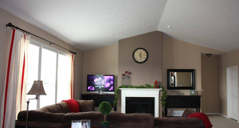 Painting Accent Walls Living Room Interior Decorating