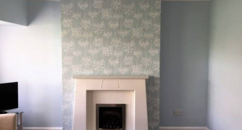 Painting Feature Lounge Rawtenstall