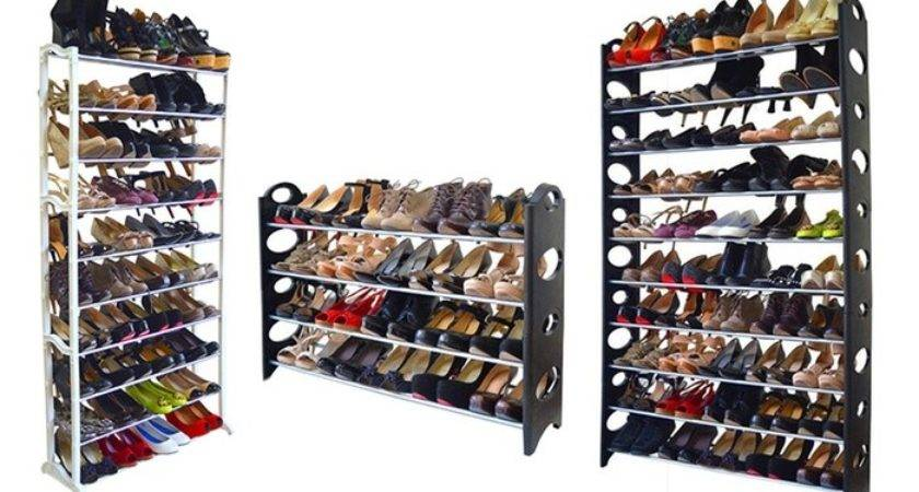 Pair Shoe Rack Groupon Goods