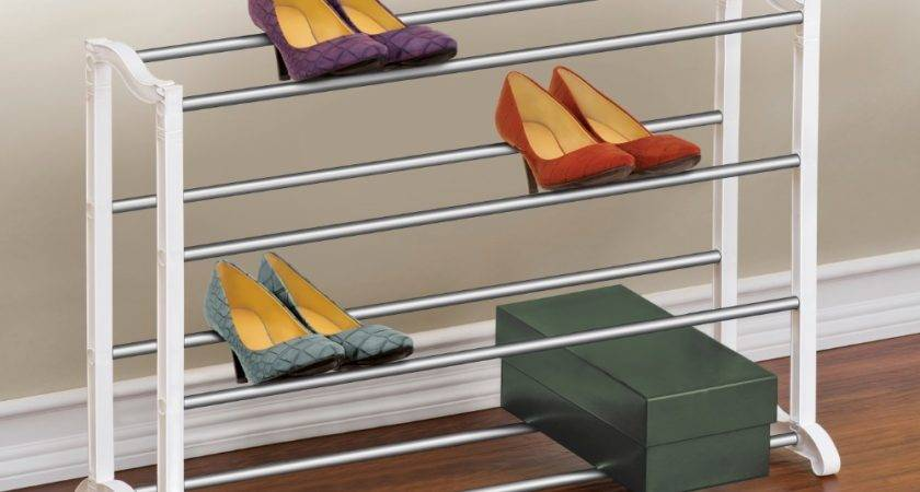 Pair Shoe Rack Organizer Lynk Inc
