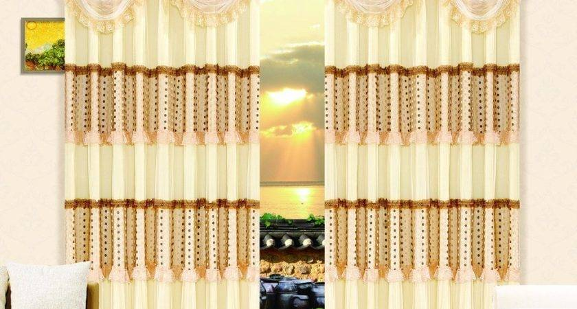 Pale Yellow Curtains Living Room House