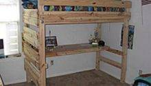 Pallet Bunk Bed Projects Wood
