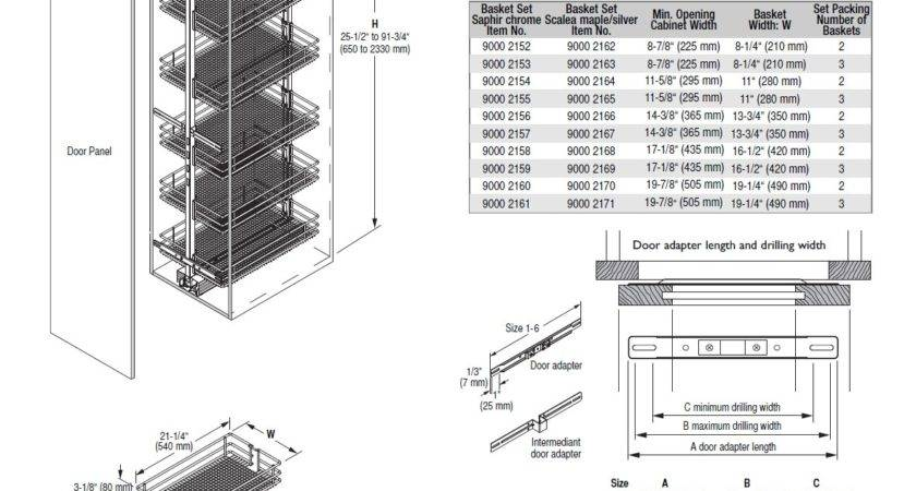 Pantry Cabinet Dimensionna