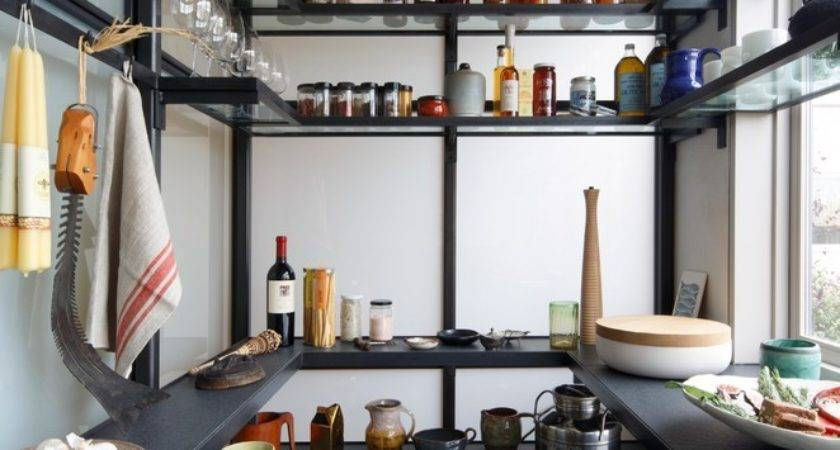 Pantry Shelving Plans Kitchen Contemporary Butlers