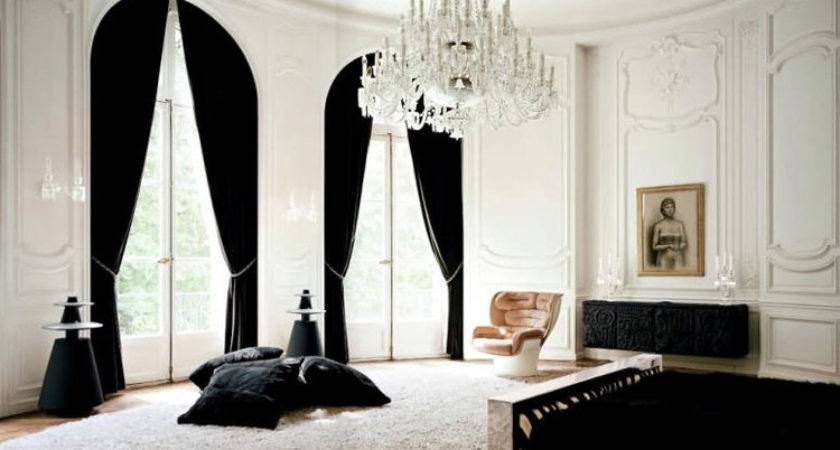 Parisian Bedroom Black White