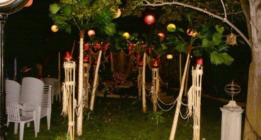 Party Lighting Design Greek Decorations