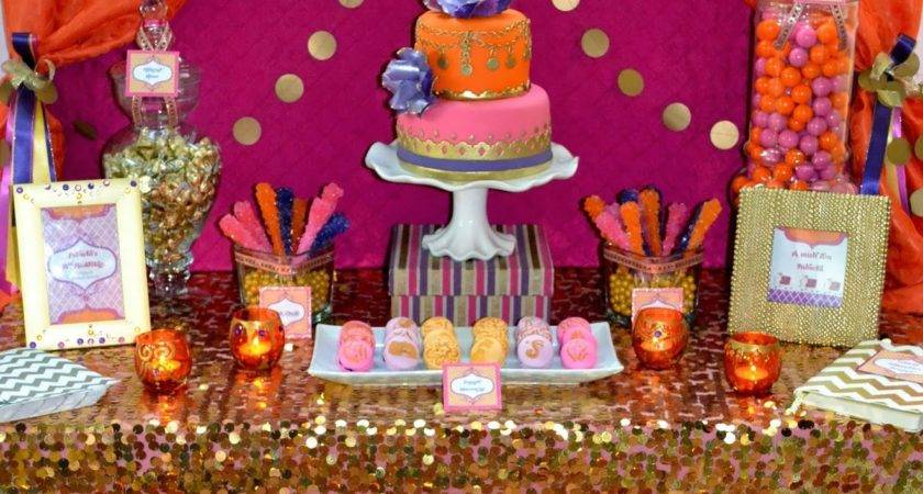 Partylicious Events Moroccan Dessert Table