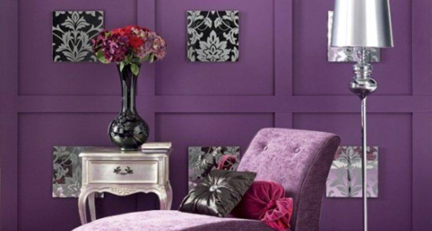 Passion Purple Inspirations French Country Cottage