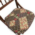 Patchwork Chair Seat Cover Cushion Pad Street