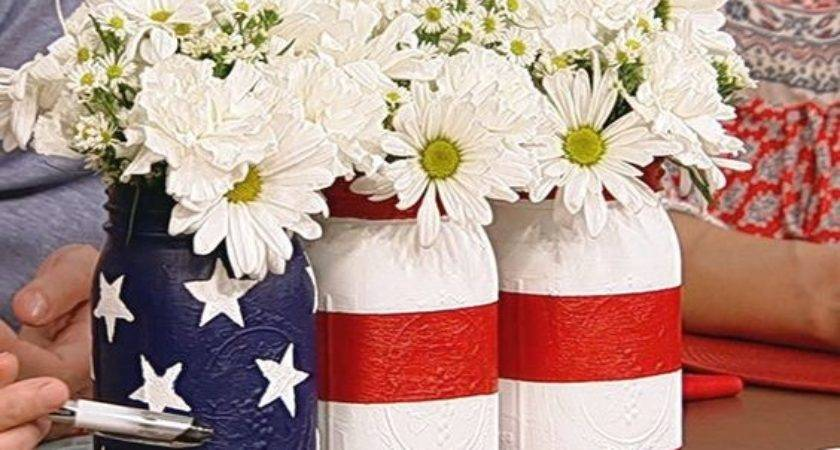 Patriotic Centerpieces Mommy Style
