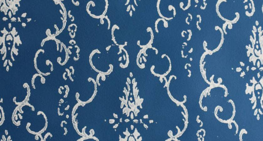 Patterned Paint Roller Deerblue