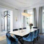 Peacock Blue Dining Chairs Designcorner
