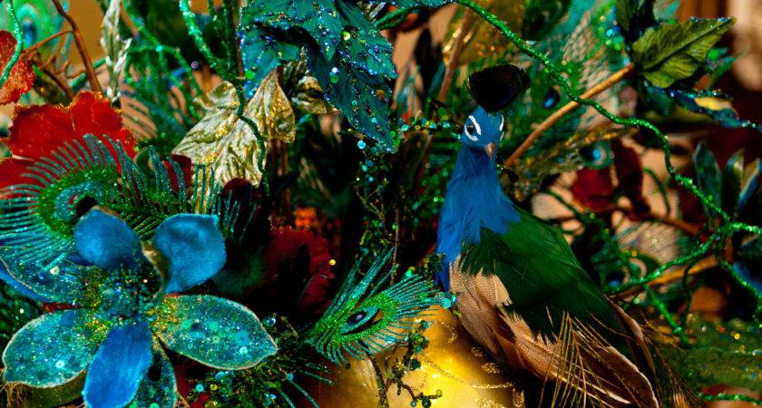 Peacock Show Decorating