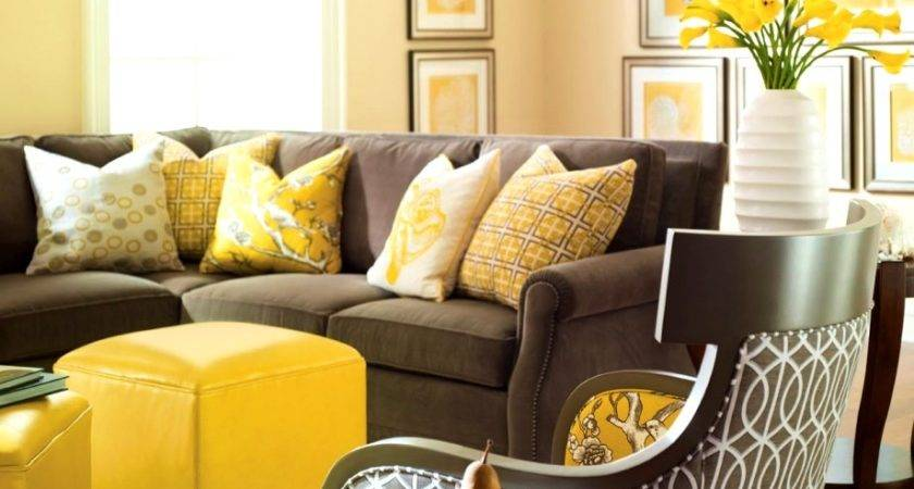 Perfect Brown Blue Yellow Living Room Ideas