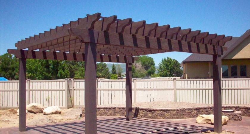 Pergola Design Ideas Kits Utah Rustic