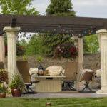 Pergola Design Ideas Outdoor Party Decorated