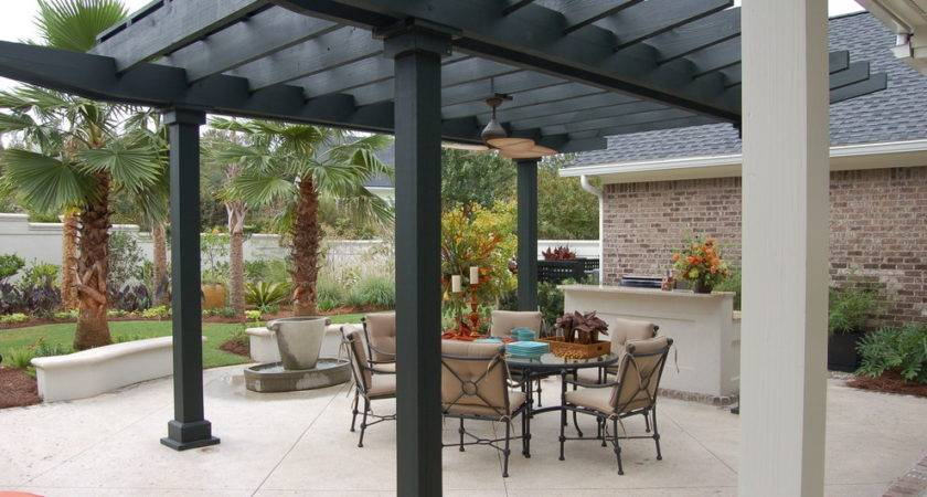 Pergola Designs Landscape Traditional Ground Cover Garden