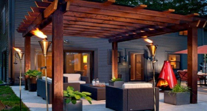 Pergola Garden Furniture Ideas Gazebos