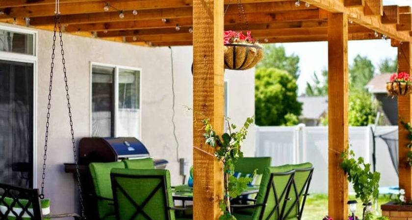Pergola Ideas Small Backyards Diy Motive