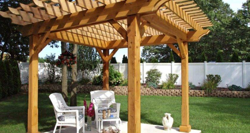 Pergola Plans Inspiring Ideas More Attractive