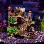 Perking Dull Aquarium Fish Tank Decoration Tankk