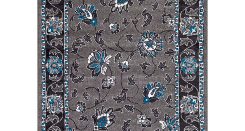 Persian Rugs Turquoise Gray Area Rug Reviews Wayfair