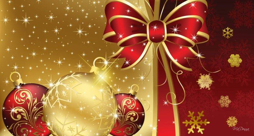 Pin Red Gold Christmas Pinterest