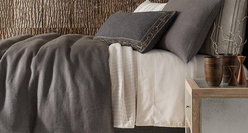 Pine Cone Hill Stone Washed Linen Duvet Cover