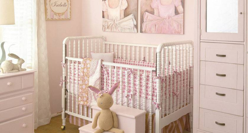 Pink Ballerina Girls Nursery Project