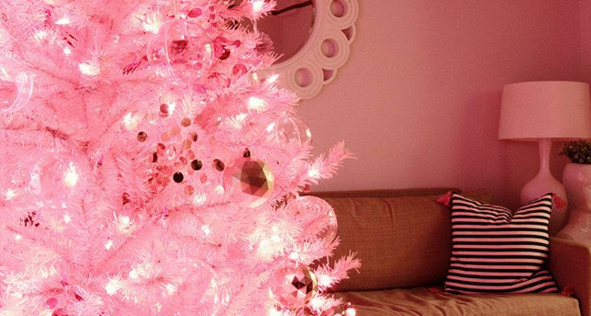 Pink Christmas Making Lovely