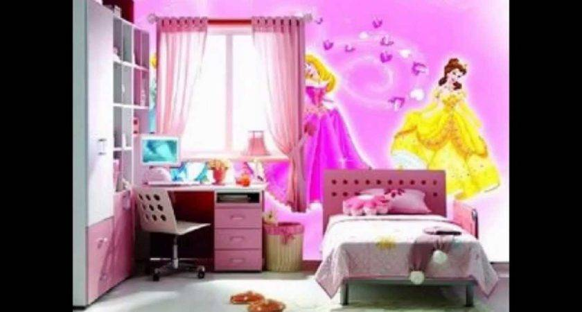 Pink Decor Ideas Girls Room Youtube