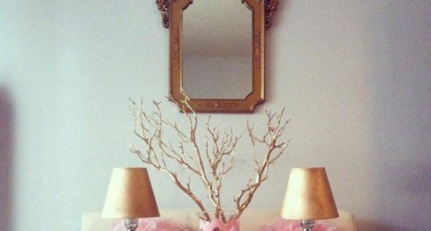 Pink Gold Party Decor Diys Popsugar Home