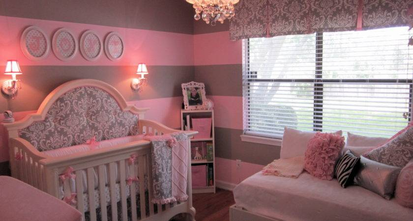 Pink Gray Baby Project Nursery