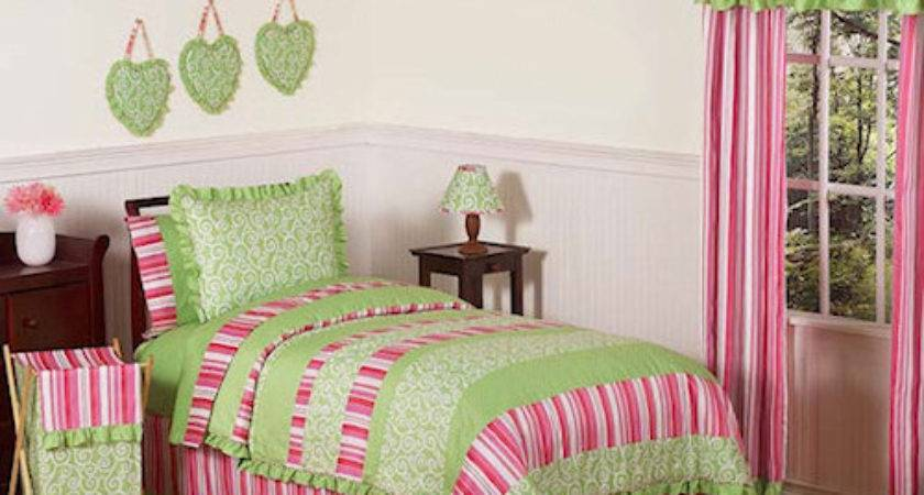 Pink Green Queen Comforter Sets Lime Bedding Beds Home