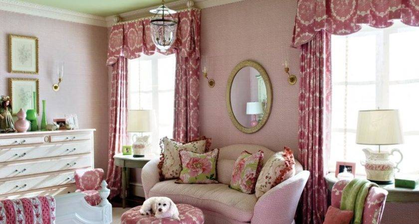 Pink Green Rooms Hgtv