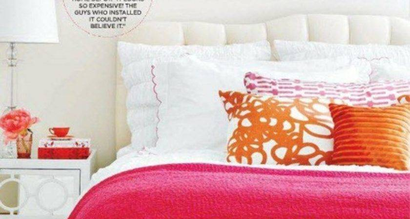 Pink Orange Decor Feng Shui Interior Design