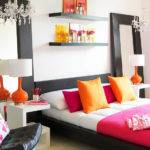 Pink Orange Girl Bedroom Driven Decor