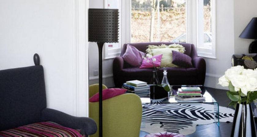 Pink Purple Green Living Room Post Brunch Saks