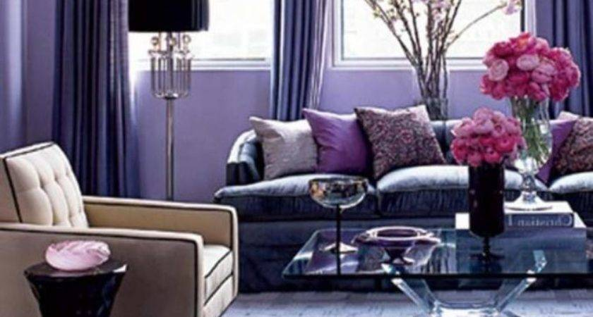 Pink Purple Living Room Ideas Interior Decor