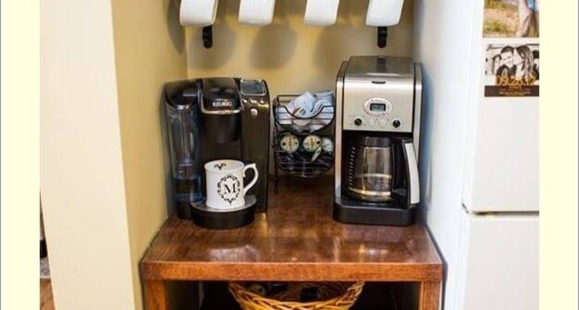 Places Your Home Can Set Coffee Station