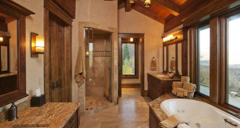 Plan Create Elegant Rustic Bathroom Ideas