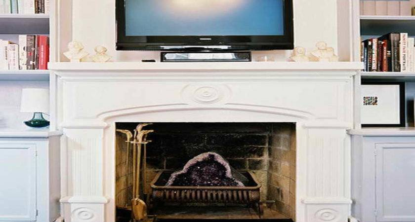 Planning Ideas Above Fireplace Wall