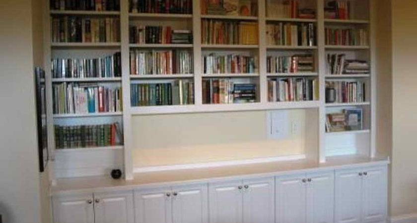 Planning Ideas Built Bookshelves Cases